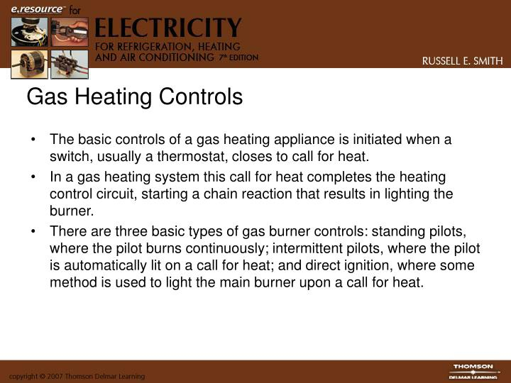 Gas Heating Controls