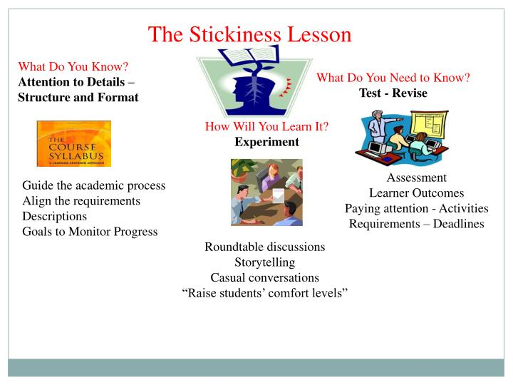 The Stickiness Lesson