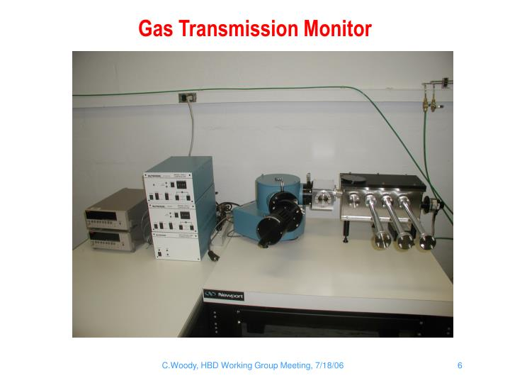 Gas Transmission Monitor