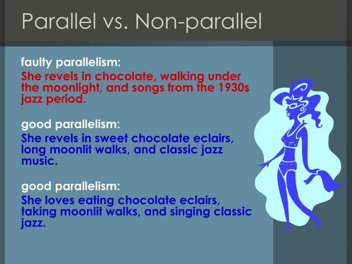 Parallel vs. Non-parallel