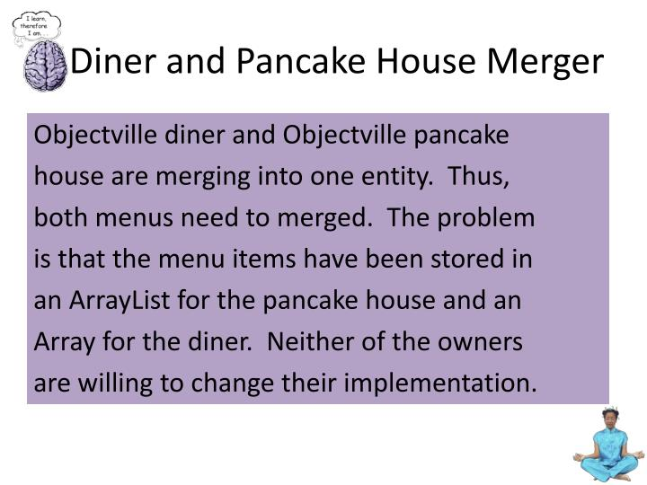 Diner and pancake house merger