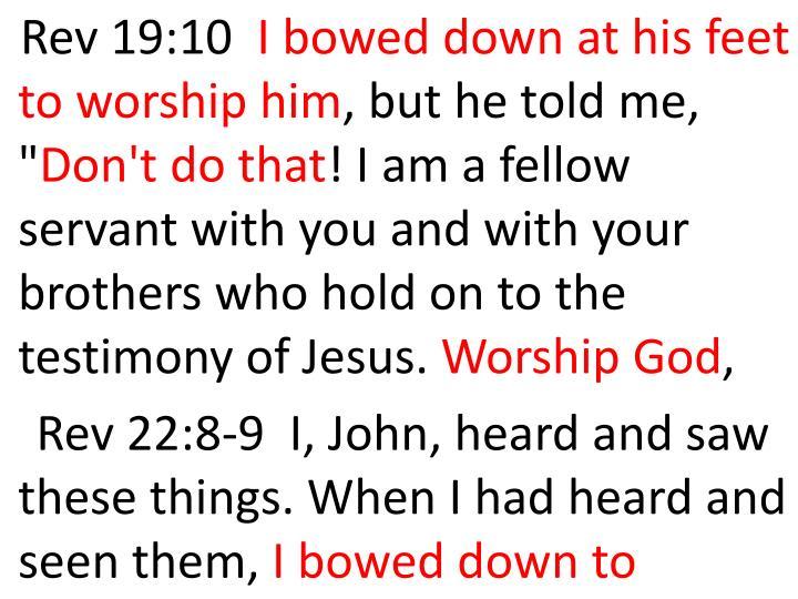 Rev 19:10