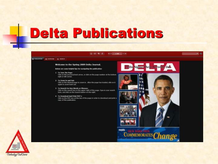 Delta Publications