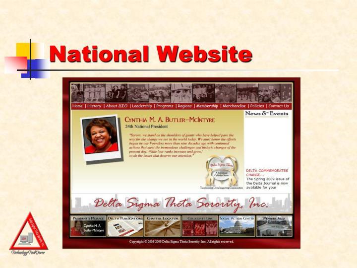 National Website