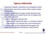 agency relationship1