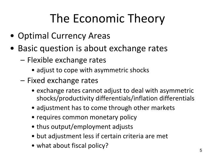 The Economic Theory