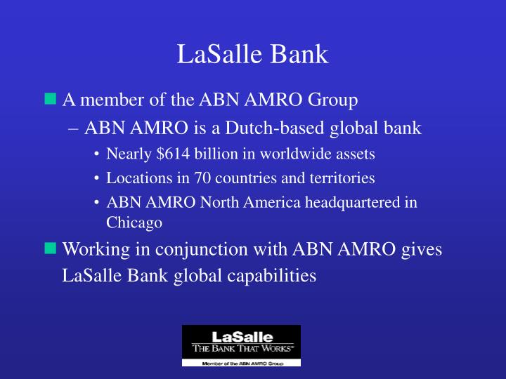 Lasalle bank1