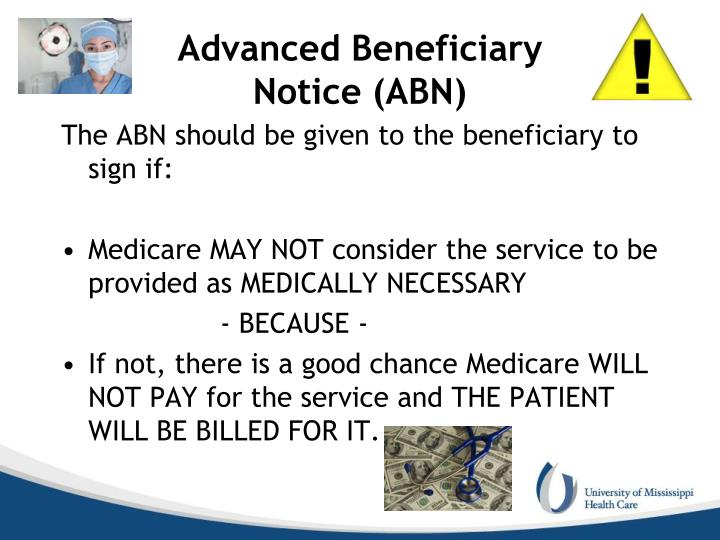 Advanced Beneficiary