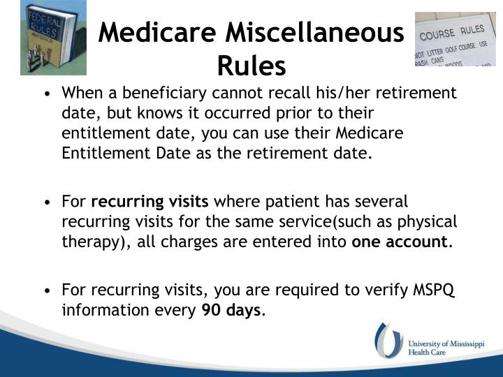 Medicare Miscellaneous