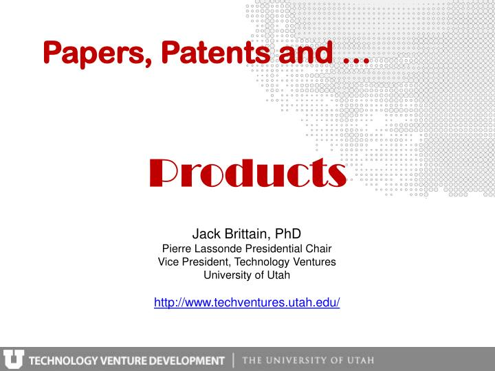 Papers patents and