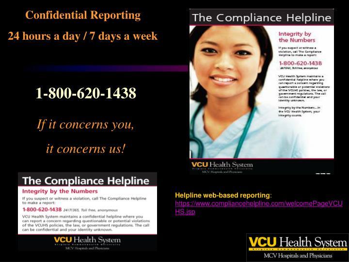 Confidential Reporting