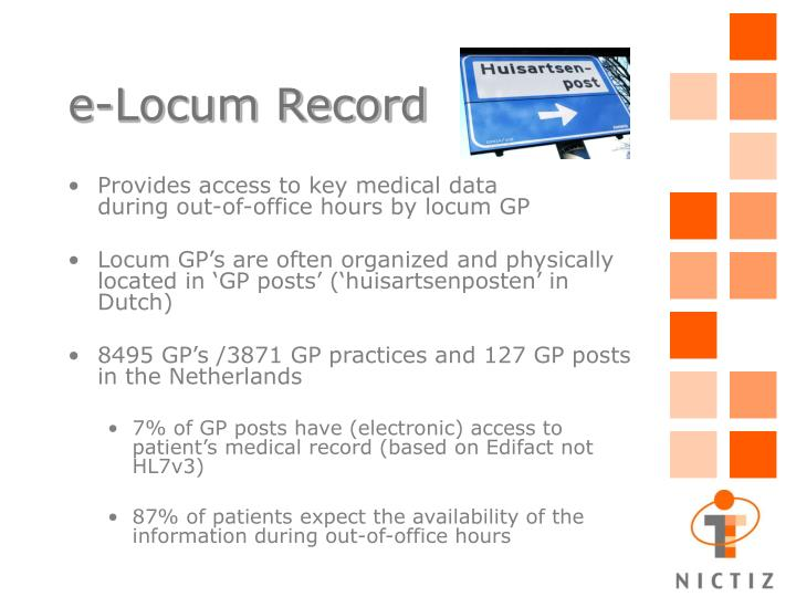 e-Locum Record