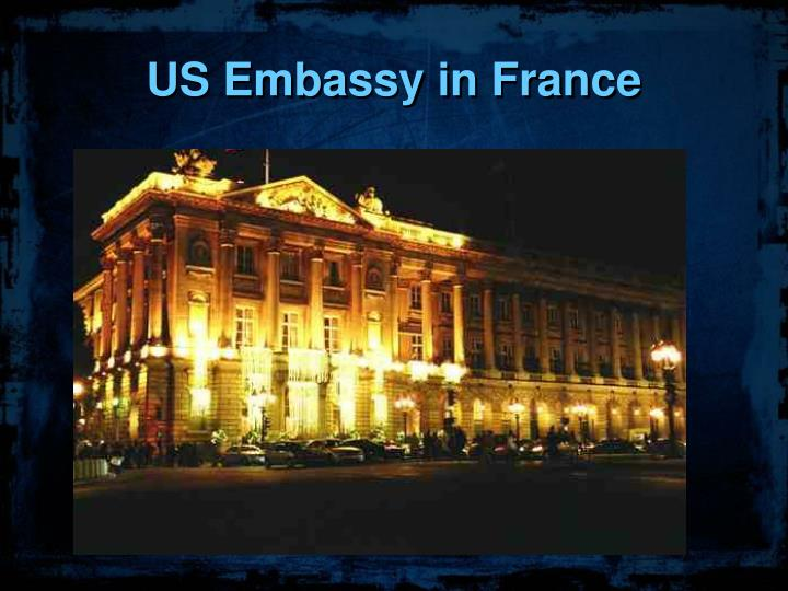 US Embassy in France