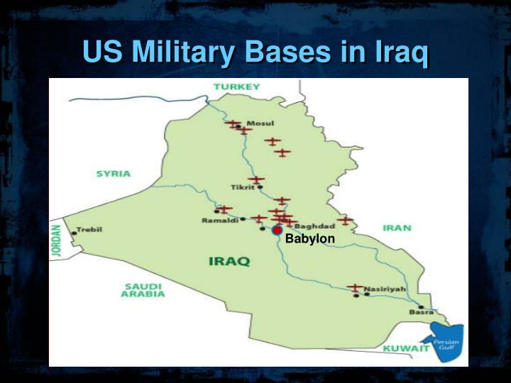 US Military Bases in Iraq