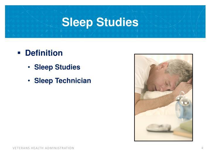 Sleep studies1