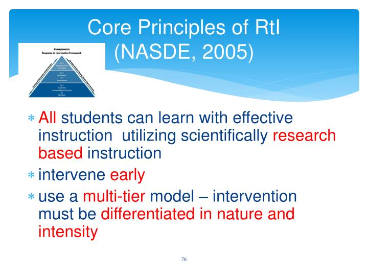Core Principles of
