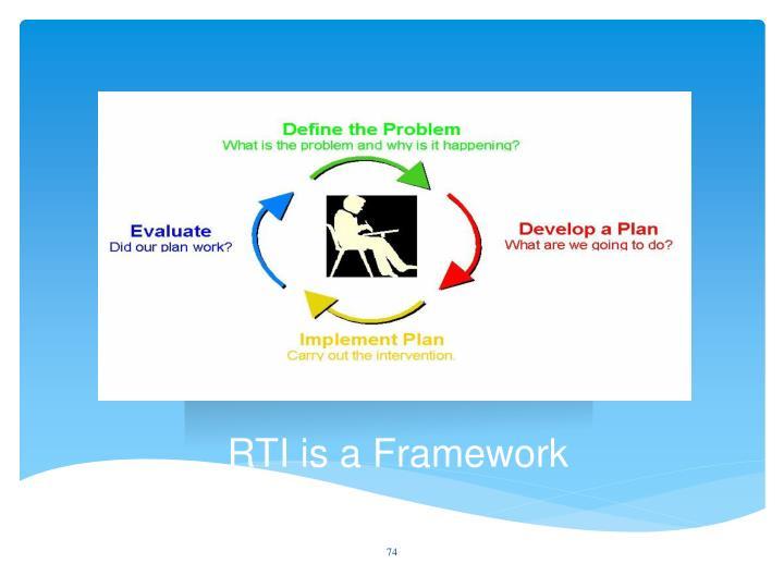 RTI is a Framework