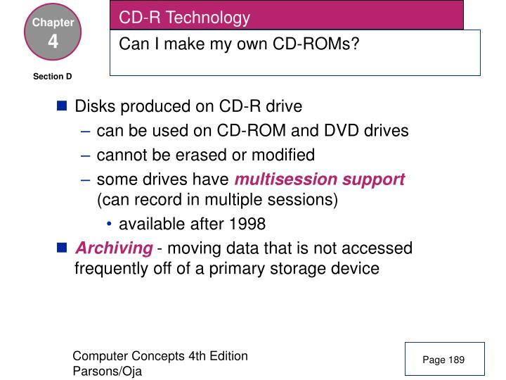 CD-R Technology