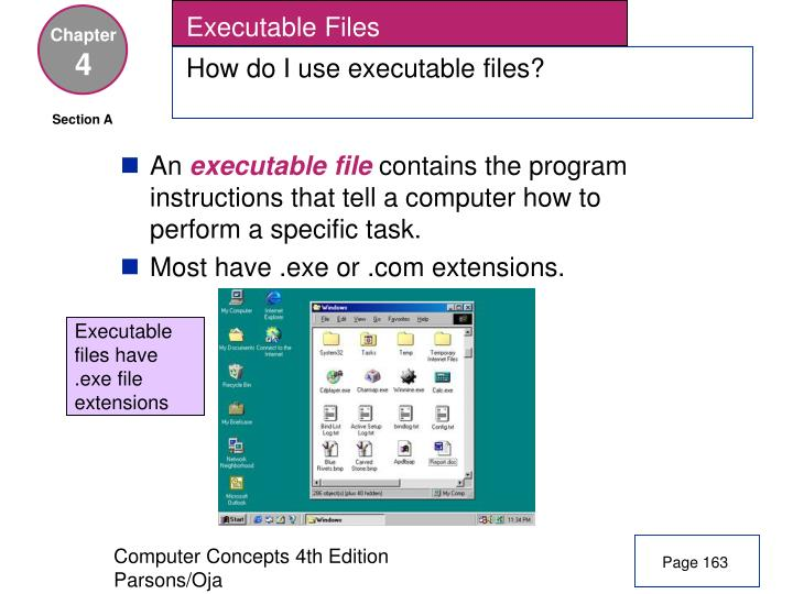Executable Files