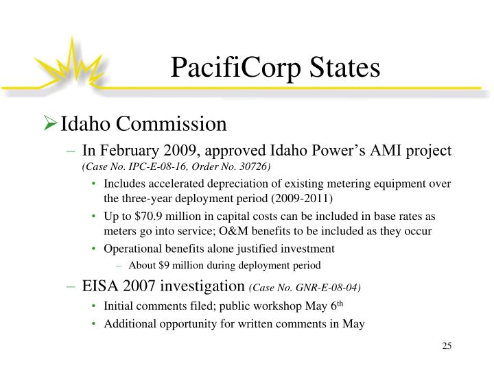 PacifiCorp States