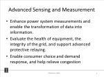 advanced sensing and measurement