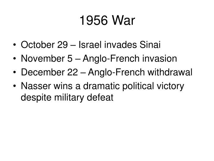 1956 War