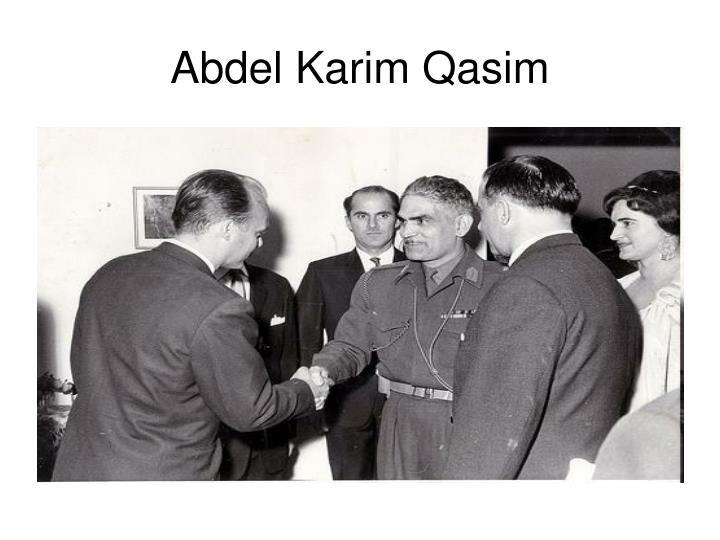 Abdel Karim Qasim