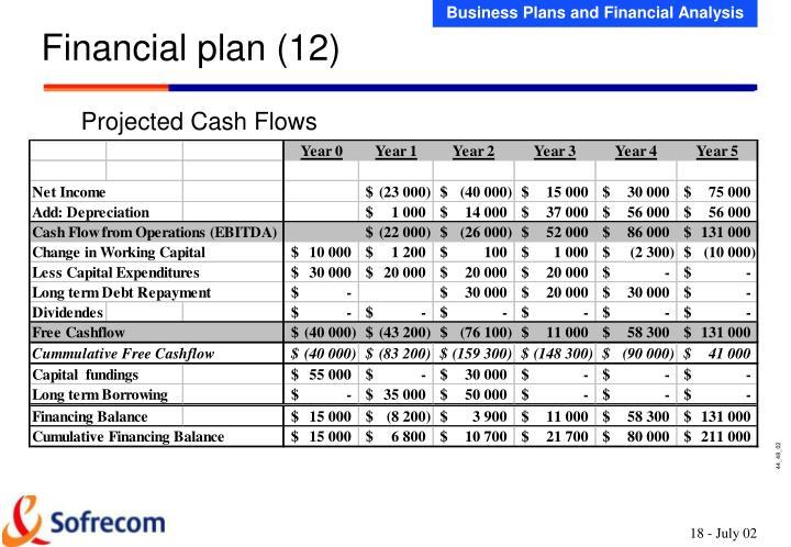 Financial plan (12)