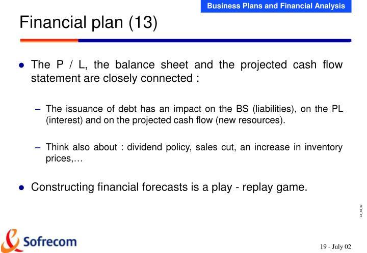 Financial plan (13)