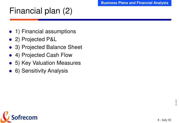 Financial plan (2)
