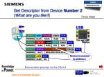 get descriptor from device number 2 what are you like