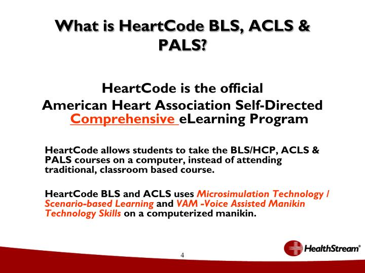 What is HeartCode BLS, ACLS & PALS?
