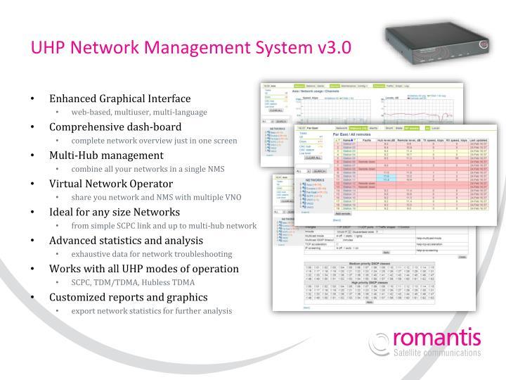 Uhp network management system v3 0