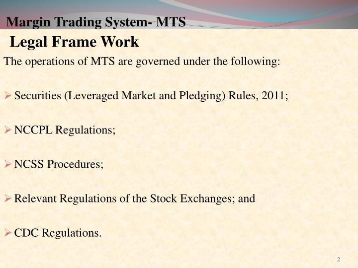 Margin trading system mts