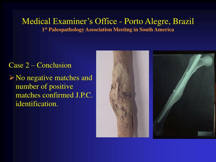 Medical Examiner's Office - Porto Alegre, Brazil