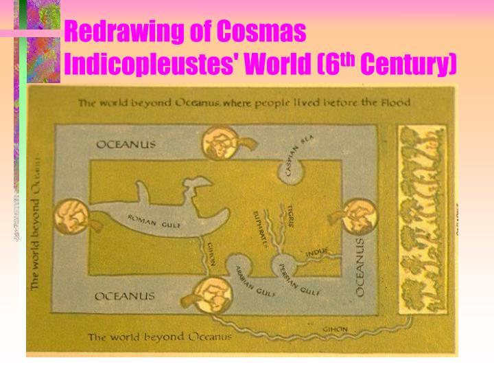 Redrawing of Cosmas Indicopleustes' World (6