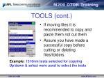 tools cont