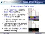 zoom adjust trace view