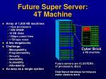 future super server 4t machine