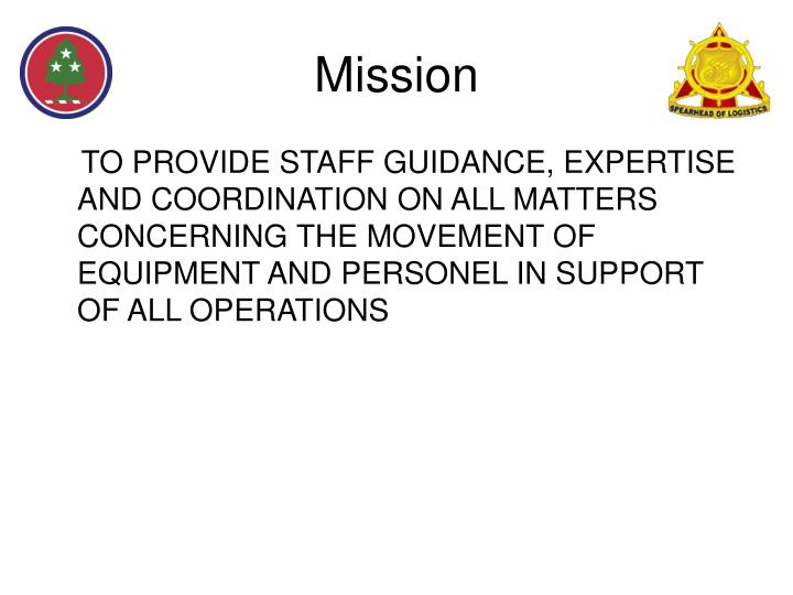 Mission