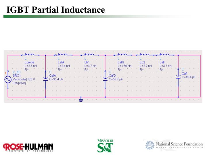 IGBT Partial Inductance