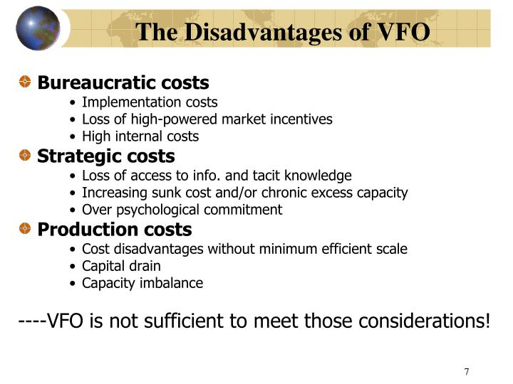 The Disadvantages of VFO