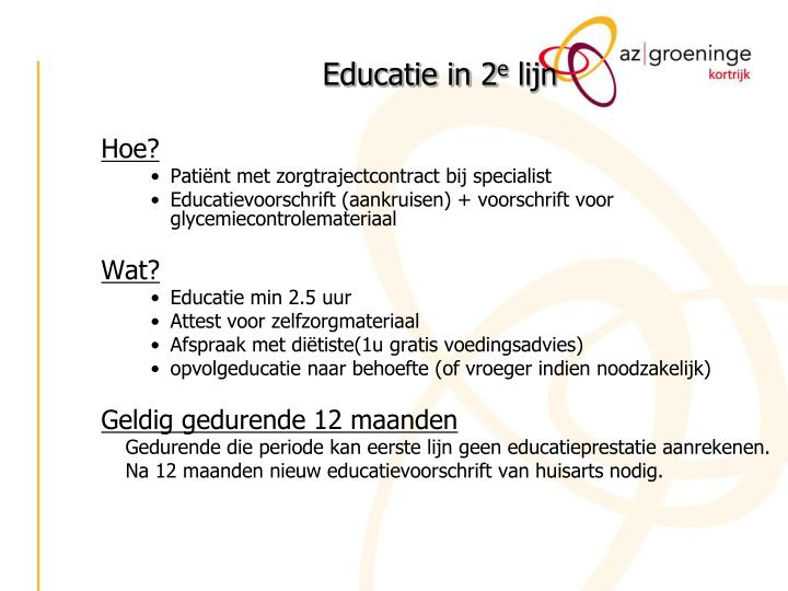 Educatie in 2