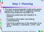 step 1 planning6