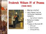 frederick william iv of prussia 1840 1861