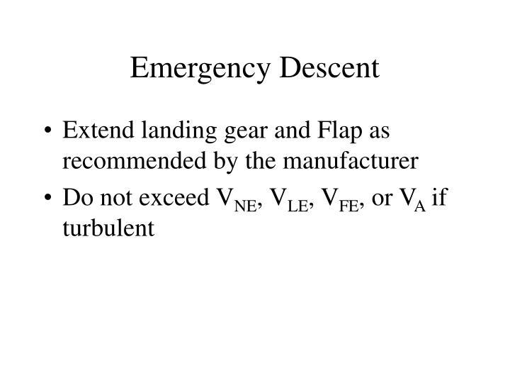 Emergency Descent