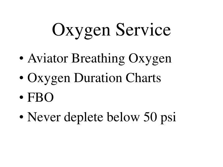 Oxygen Service