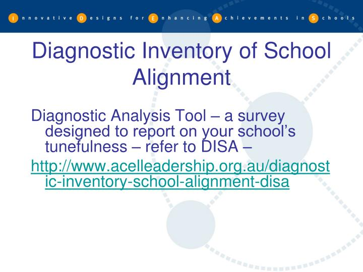 Diagnostic Inventory of School Alignment