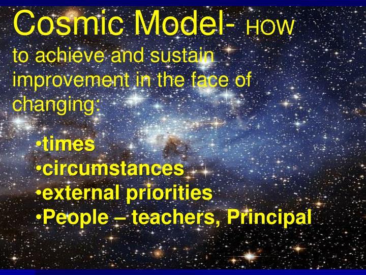 Cosmic Model-