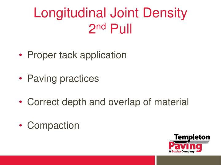 Longitudinal Joint Density
